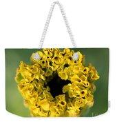 African Marigold Named Crackerjack Gold Weekender Tote Bag