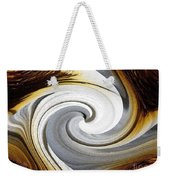 African Moon Twirls Weekender Tote Bag