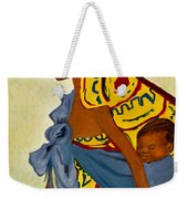 African Mother And Child Weekender Tote Bag