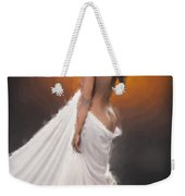 African Nude And White Cloth 1036.02 Weekender Tote Bag
