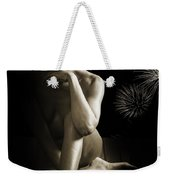 Chynna African American Nude Girl In Sexy Sensual Photograph And In Black And White Sepia 4791.01 Weekender Tote Bag