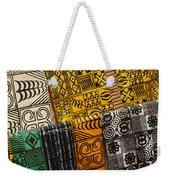 African Prints Weekender Tote Bag