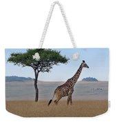 African Safari Giraffes 2 Weekender Tote Bag