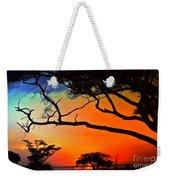 African Skies Weekender Tote Bag