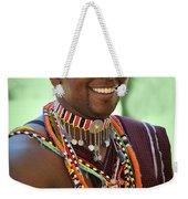 African Smile Weekender Tote Bag