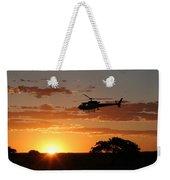 African Sunset II Weekender Tote Bag