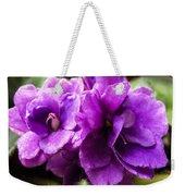 African Violet Weekender Tote Bag