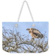 African White-backed Vulture Weekender Tote Bag