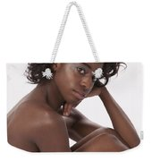 Chynna African American Nude Girl In Sexy Sensual Photograph And In Color 4779.02 Weekender Tote Bag