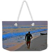 After A Long Day Of Surfing Weekender Tote Bag by John Malone