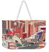 After Christmas Lunch Weekender Tote Bag
