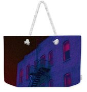 after hours glow -Seurat Style Weekender Tote Bag