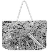 After The Ice Storm Weekender Tote Bag