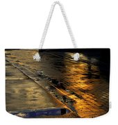 After The Rain Weekender Tote Bag by Laura Fasulo