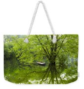 After The Rain On The Valley River Weekender Tote Bag