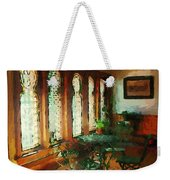 Afternoon At Le Cafe Des Vignes Weekender Tote Bag