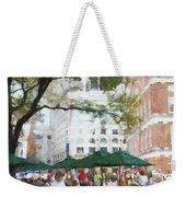Afternoon At Faneuil Hall Weekender Tote Bag by Jeff Kolker