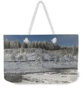 Afternoon At Mud Volcano Area - Yellowstone National Park Weekender Tote Bag