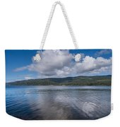 Afternoon Clouds Over Big Lagoon Weekender Tote Bag