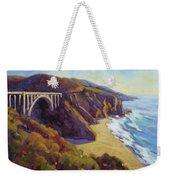 Afternoon Glow 3 / Big Sur Weekender Tote Bag