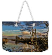 Late Afternoon In The Mead Wildlife Area Weekender Tote Bag