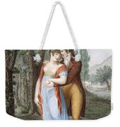 Afternoon Near St. Gervais, Engraved Weekender Tote Bag