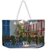 Afternoon On The Balcony Weekender Tote Bag