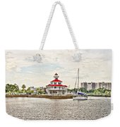 Afternoon On The Water - Hdr Weekender Tote Bag