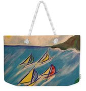 Afternoon Regatta By Jrr Weekender Tote Bag by First Star Art