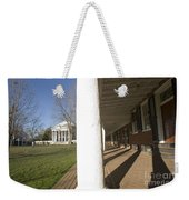 Afternoon Shadows Spread Across The Dorms Rooms Along The Lawn Weekender Tote Bag