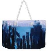 Afternoon Skyline Weekender Tote Bag