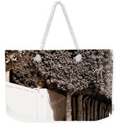 Afternoon Sun Bw Palm Springs Weekender Tote Bag
