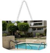 Afternoon Swim Palm Springs Weekender Tote Bag by William Dey