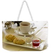Afternoon Tea Weekender Tote Bag by Louise Heusinkveld