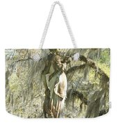 Afton Plantation Villa Statuary Weekender Tote Bag