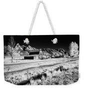 Against The Mountains Weekender Tote Bag
