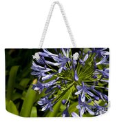 Agapanthus Flower And Bee Weekender Tote Bag