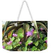 Agave And African Violets Weekender Tote Bag