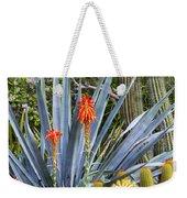 Agave And Cactus Weekender Tote Bag