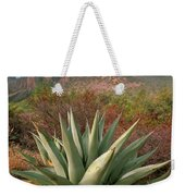 Agave And The Chisos Mountains Weekender Tote Bag