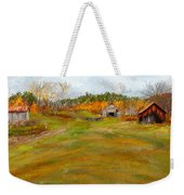 Aged With Character-farm Life Weekender Tote Bag