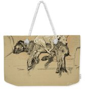 Agglomeration Weekender Tote Bag by Cecil Charles Windsor Aldin