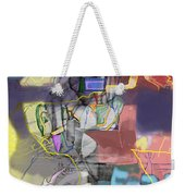 Self-renewal 5c7 Weekender Tote Bag