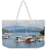 Agios Stefanos Weekender Tote Bag