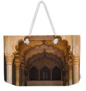 Agra Fort Arches Weekender Tote Bag