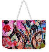 Agression And All  Weekender Tote Bag
