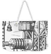 Agricola Water Pump, 1556 Weekender Tote Bag