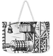 Agricola Waterwheel, 1556 Weekender Tote Bag
