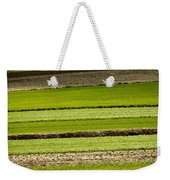 Agriculture Layers Fields And Meadows Weekender Tote Bag