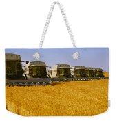 Agriculture - Six Gleaner Combines Weekender Tote Bag